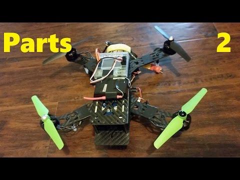Building a Quadcopter p.2 - Parts