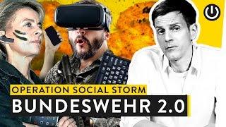 Zu den Waffen! Wie die Bundeswehr im Netz nach Nachwuchs jagt | WALULIS