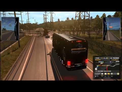 american truck simulator mega bus express