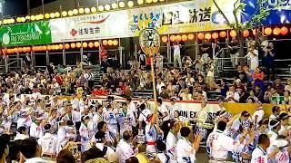 阿波踊り2017 第1部 ゲストにテツ&トモさんと中村静香さんが来ていまし...