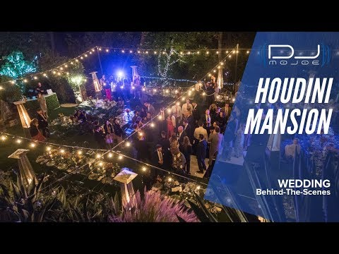 What it's like to DJ a Wedding at The Houdini Estate