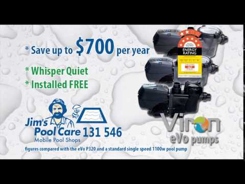 Pool Pump Energy Saving from Jims Pool Care 2015