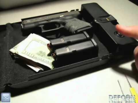 DEFCON 19 - Gun safe hacking