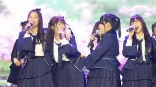 เพลง ความทรงจําและคำอำลา (Sakura no hanabiratachi) ในงาน SAMSUNG GALAXYJ8 X BNK48
