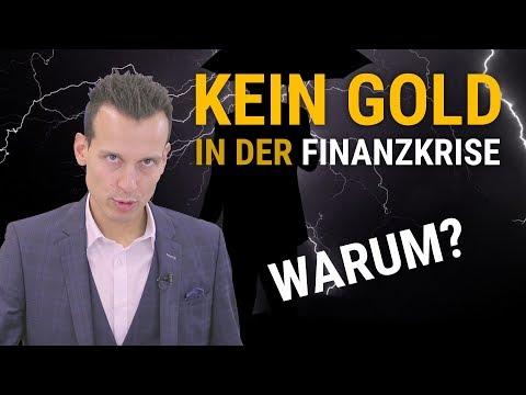 Warum es in der Finanzkrise kein Gold mehr gibt...