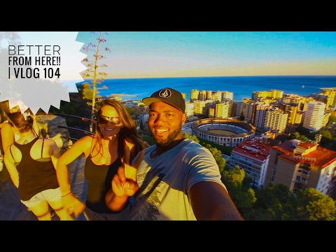 The BEST view of MALAGA, SPAIN!   Vlog 104
