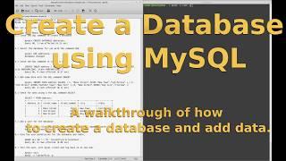 Comment créer une Base de données sur le serveur MySQL, en utilisant la ligne de commande.
