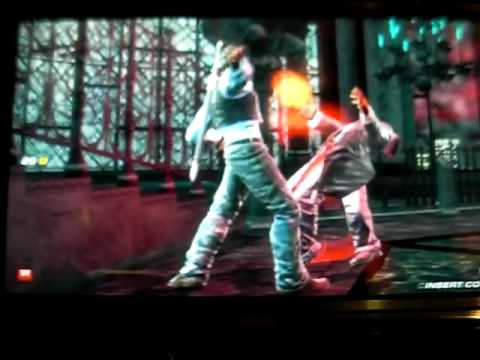 Tekken 6 - Miguel vs. Nancy-MI847J, Jin, and Azazel