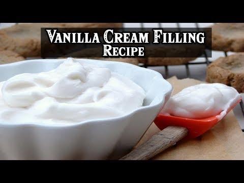 How To Make Vanilla Cream Filling Recipe | MR Recipes
