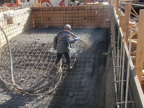 Gunite VS Shotcrete Pools