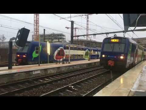 Trains à Versailles Chantiers Lignes C Ligne N Ligne U Ter et  Intercités