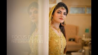 Pakistani Cinematic Wedding Highlights - In Aankhon Ki Masti - Full Cover Song By Soujanya