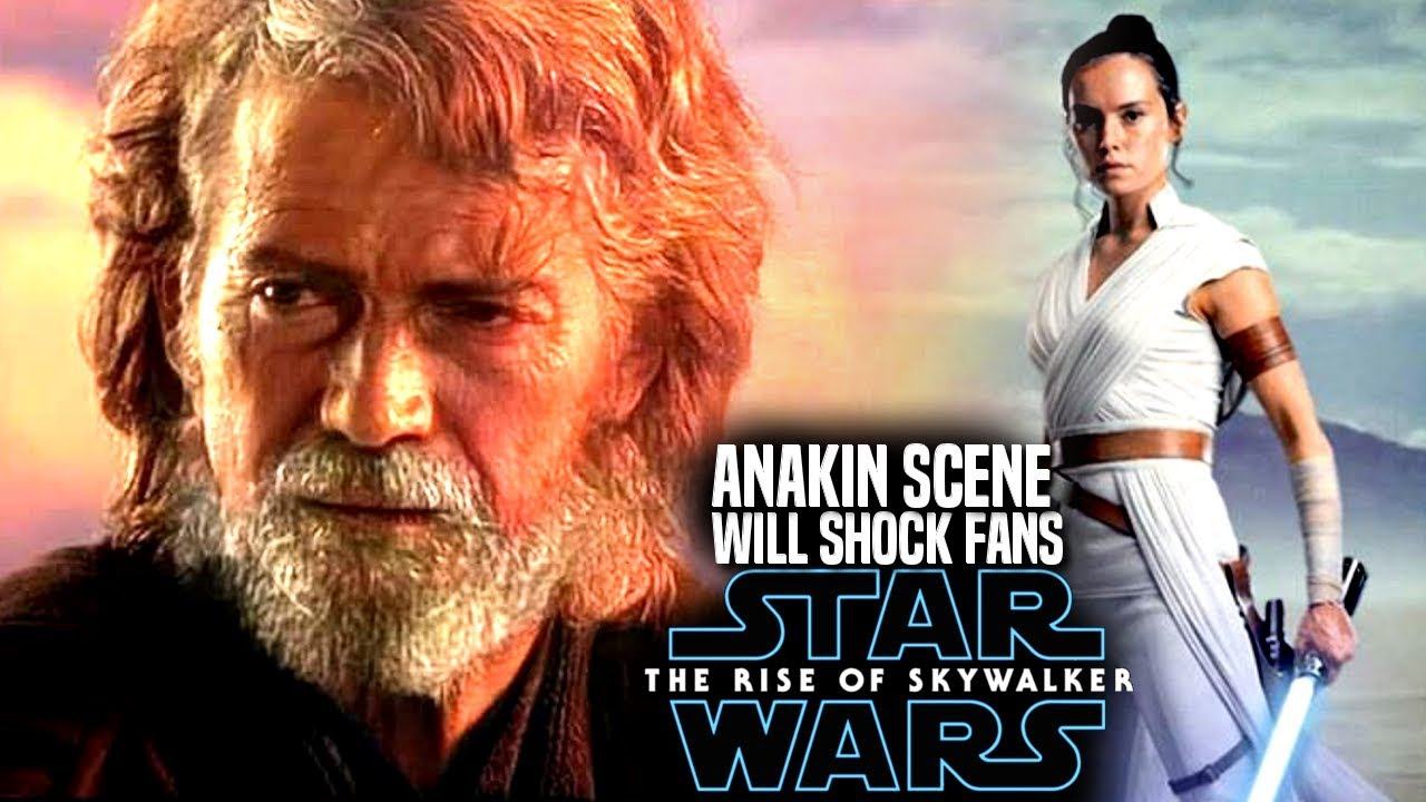 The Rise Of Skywalker Anakin Scene Will Shock Fans Star Wars Episode 9 Youtube