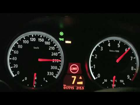 BMW M6 SPEED RUN