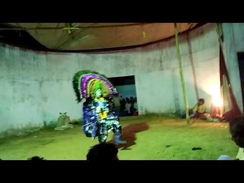 Best chhau dance Krishna ...Debashish kumar