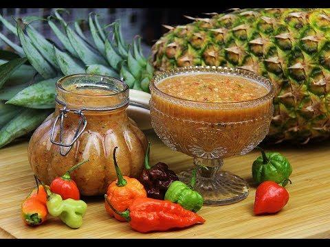 Pineapple Peppersauce (hot sauce) | CaribbeanPot.com