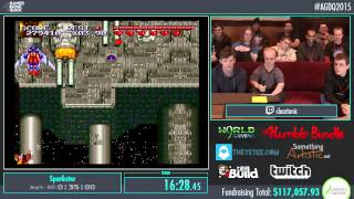 Awesome Games Done Quick 2015 - Part 15 - Sparkster by Tonic