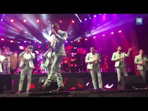 Así estuvo el concierto de banda El Recodo en Managua