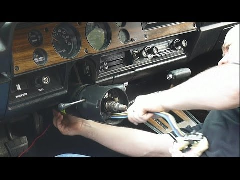 turn signal switch repacement in 70 39 s gm vehicle part 2 of. Black Bedroom Furniture Sets. Home Design Ideas