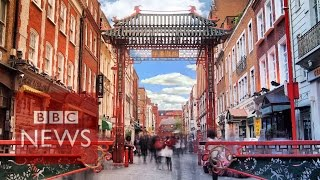 Inside London's Chinatown (360 video) – BBC News