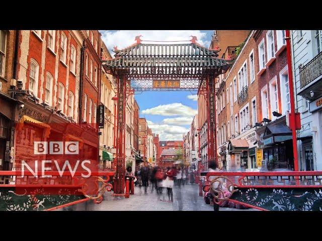 Inside London's Chinatown (360 video) - BBC News
