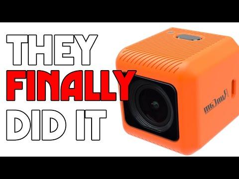 RUNCAM 6* $99 GOPRO solution. It's Actually pretty good. (Run Cam 5 ORANGE)