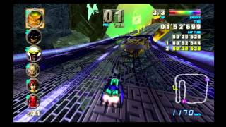 F-Zero GX: Master Class beaten with a Custom Machine (Heat Goose-Z)