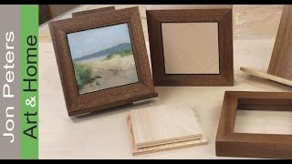 Build A Hand Made Sapele Wood Frame System By Jon Peters