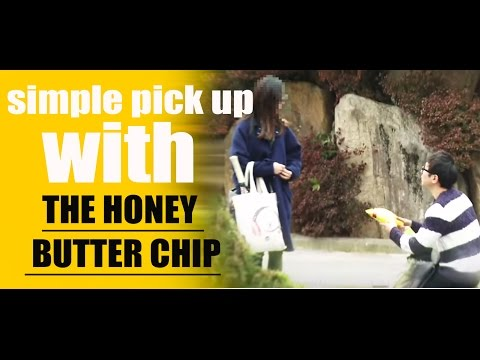 Pick up Korean girls with the honey butter chip(ENG SUB)