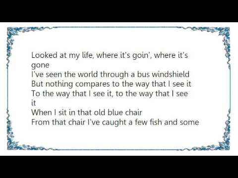 Kenny Chesney - Old Blue Chair Ocean Mix Lyrics
