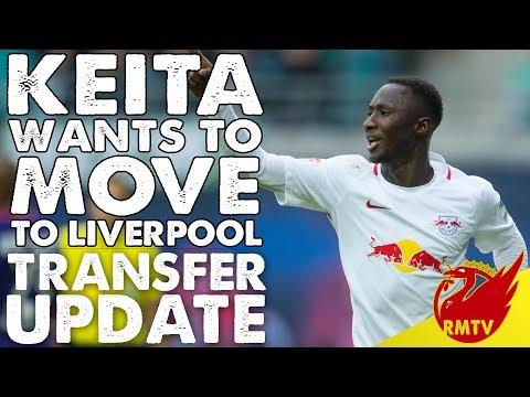 Keita Asks to Join Liverpool | LFC Daily News LIVE