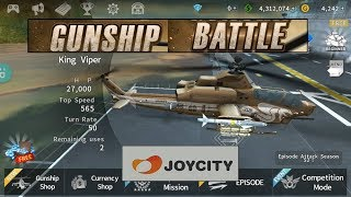 GUNSHIP BATTLE: Helicopter 3D King Viper Game
