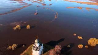 Церковь Покрова на Нерли   SHANTI(Церковь Покрова на Нерли, разлив рек Клязьма и Нерль фотосъемка Станислав Седов, Дмитрий Моисеенко БХАДЖА..., 2013-01-15T17:28:17.000Z)