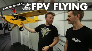 Making My Friend His First FPV Plane