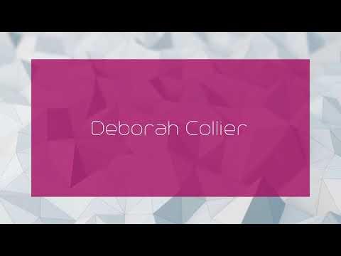 Deborah Collier - appearance