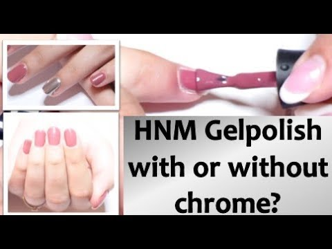 HNM Gelpolish Review 007 color, with of without chrome? Ali Express budget