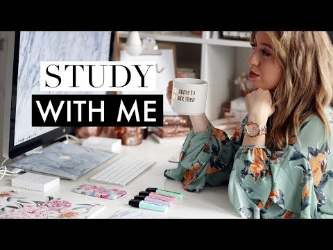 Work / Study With Me #6 ♡ Real Time Studying Session