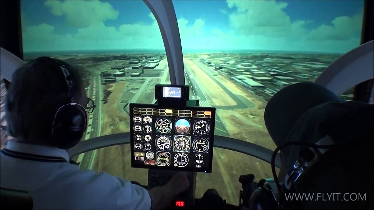 Professional Helicopter Simulator - FLYIT Simulators, The New