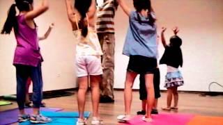 Детская Творческая Мастерская Лучии Денесюк. Урок хореографии.