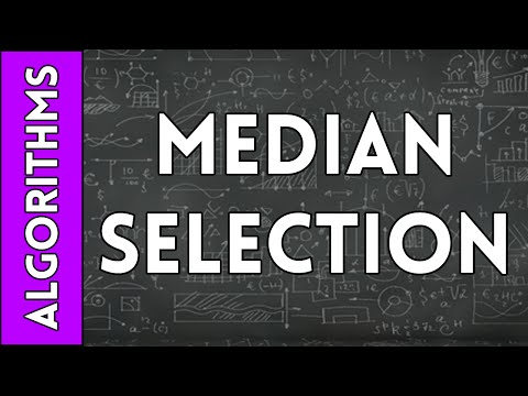 Median Selection Algorithm (Part #5 - Deterministic Solutions)
