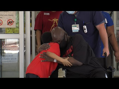 COVID-19 survivor released from UAB's Spain Rehab