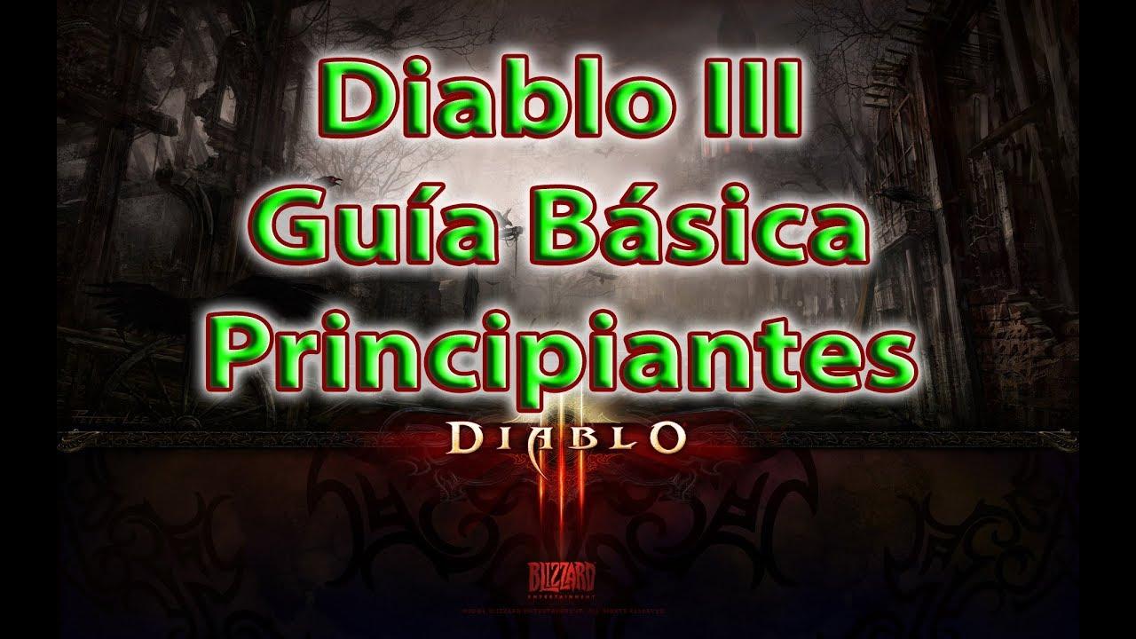 Diablo 3 Guía BÁSICA para principiantes