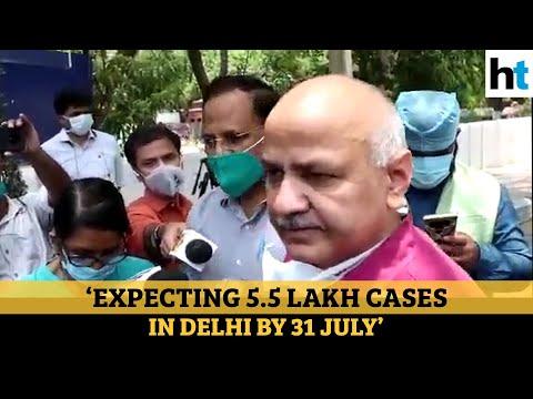 Covid: Sisodia says 88,000 beds needed by July end, slams Delhi LG Baijal