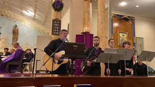 Performing with adult choir at OLPH Lindenhurst. Advent Lessons and Carols mass. 12/7/19