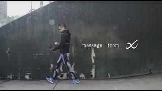 イチロー選手のトレーニングシーンとメッセージをおさめた貴重な動画です。
