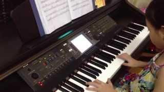 ĐỘC TẤU PIANO BÈO DẠT MÂY TRÔI...D. ANH 8 TUỔI CỰC HAY