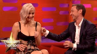 James McAvoy & Jennifer Lawrence Play The Circle Game! | The Graham Norton Show CLASSIC CLIP