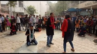 nukad natak by jmi nss students