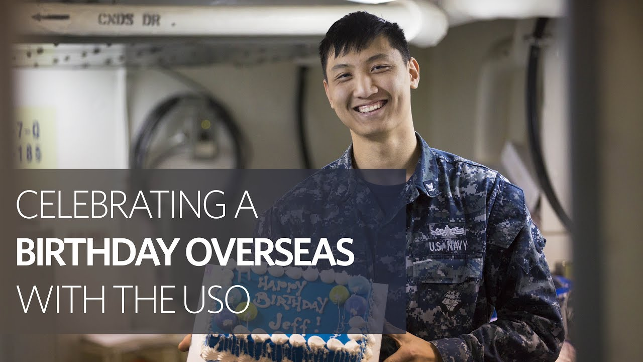 Uso Operation Birthday Cake Brings The Party To Service Members In