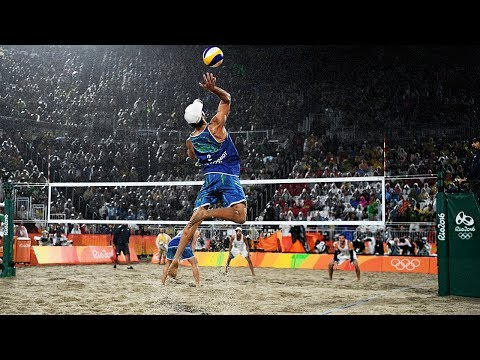 TOP 20 Crazy Actions Beach Volleyball | 3rd Meter Spike | Be